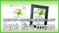 Face Five Frame(フェイスファイブフレーム)